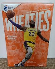 LEBRON JAMES WHEATIES Cereal Box Sealed Lakers 4x NBA Champ - 1st Wheaties Cover