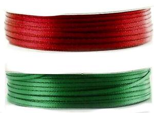 4m Satinband 2 mm breit doppelseitig (0,25€/m)