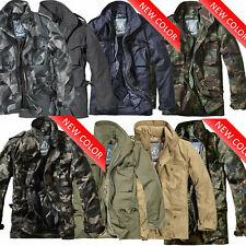 M65 2in1 Herren Jacke Winter Jacke Parka Army Militär Bundeswehr Camo US Jacke