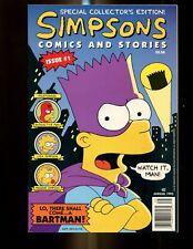 SIMPSONS COMICS AND STORIES 1 (8.5) BONGO COMICS (b045)