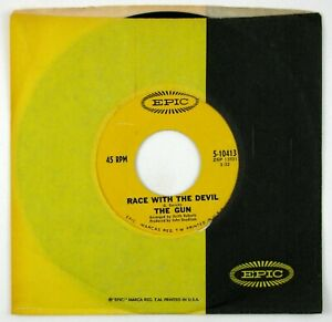 THE GUN Race With The Devil 7IN 1969 PSYCH ROCK VG++