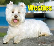 Just Westies (dog breed calendar) 2021 Box Calendar (Free Shipping)