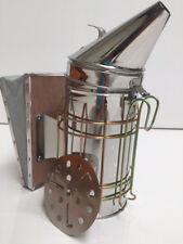 Bee Hive Smoker - Stainless Steel Beekeeping Smoker with Safeguard Grate Medium