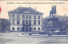 BF36724 statue du prince regnet luitpold de baviere et cercle de landau germany