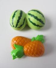 Playmobil Dollshouse/Market/Cafe/Farm extras: Pineapple & watermelon fruit NEW