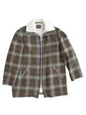 Vintage 60's Pendleton Wool Sherpa Lined Coat Size Large