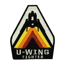 Disney Star Wars U-Wing Fighter Patch Pilot Officially Licensed Iron-On Applique