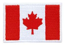 bk31 Kanada Flagge Klein Fahne Canada Aufnäher Bügelbild Patch 4,6 x 3,1 cm