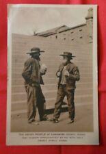 Vintage Postcard Amish Men of LANCASTER COUNTY PA Pennsylvania Unused