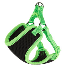 Top Paw Black/Green Mesh Comfort Dog Harness XXS 13-16in