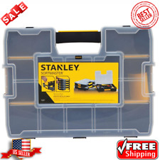 Stanley Stst14027 SortMaster 15-Compartment Small Parts Tool Organizer - New