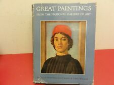 Great Painting from the National Gallery of Art  HC  DJ  1st Printing 1952