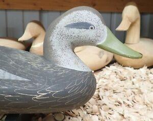 Black Duck Decoy by Jim Pierce of Havre de Grace MD