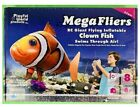New Mega Fliers RC Giant Flying Inflatable Clown Fish Air Swimmer 27MHz *Rare
