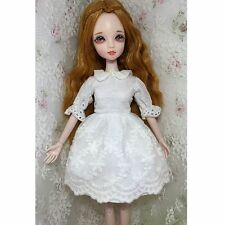 "[wamami] Cute White Dress For 12"" Neo Blythe Doll Takara Doll Dollfie Outfit"