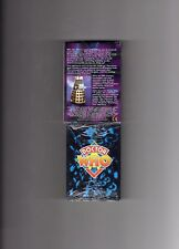 Doctor Who CCG trading & collecting cards the booster set rules all listed below