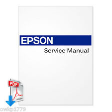 EPSON Stylus Pro 10000 / 10000CF /10600 Large Format Printer Service Manual -PDF