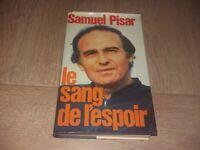 LE SANG DE L'ESPOIR  / SAMUEL PISAR