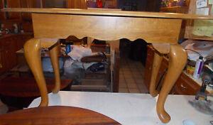 Oval Oak Sofa Table / Entry Table