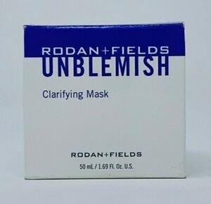 Rodan and + Fields Unblemish Clarifying Mask 50ml 1.69 oz NEW PRODUCT