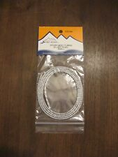 Fly Tying Woven Body Tubing Silver Tinsel Small