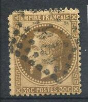 France 1867 Yv. 30 Oblitéré 40% Napoléon III, 30 c