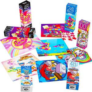 6 Pack Paw Patrol Baby Shark Marvel Super Hero Trolls Poopsie Kids Jigsaw Puzzle