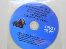 RACE NIGHT DVD DISC TWO - 10 GREAT UK HORSE RACES-1 DOG RACE-J/POT 5 DOG+ INTRO