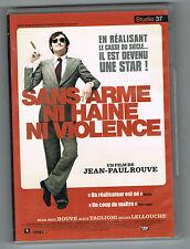 SANS ARME NI HAINE NI VIOLENCE - JEAN-PAUL ROUVE - DVD TRÈS EN BON ÉTAT
