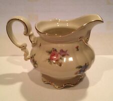 Vintage Hutschenreuther Bavaria Germany US Zone MAYFAIR (7287) Footed Creamer