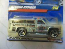 Hot Wheels Bomb Squad Truck #218 Rescue Ranger 1999