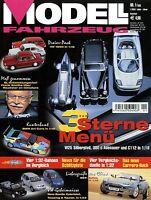 Modell Fahrzeug 2003 1/03 Magazin VW 1600 Jaguar XKR Opel Olympia 1900 Touareg