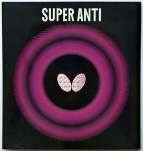 Butterfly Super Anti SPEZIAL / schwarz / 1,5 mm (extra glatt + gebr. Schwamm)
