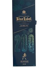 Johnnie Walker Blue Lable 200 Anniversary Edition