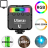 Ulanzi VL49 Mini RGB LED Video Light 2000mAh Portable Pocket Photography Light