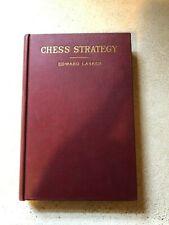 Edward Lasker Two Chess Books