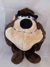 "TASMANIAN DEVIL Plush 11"" TAZ Warner Bros Mighty Star Stuffed Animal"