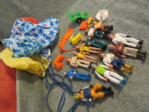 Vintage Fisher Price Adventure People Action Figures Lot of 12  1974-1981