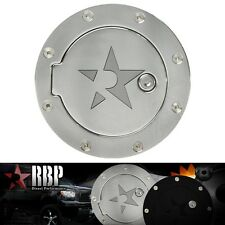 RBP Chrome Replacement Aluminum Gas Fuel Door with Lock for 04-08 FORD F150