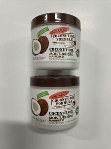 Palmers Coconut Oil Formula Moisture Gro Hairdress 5.25oz pack of (2)