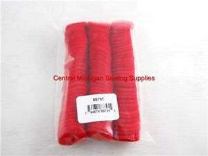 (100 pack) Red Felt Pad For Sewing Machine Spool Pins Crafts