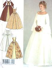 McCall 9691 Alicyn Wedding Bridal Bridesmaid Gown Pattern Sz 12-16 or 14-18