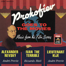 Prokofiev Goes to the Movies by Various Artists (CD, EMI Angel Studio)