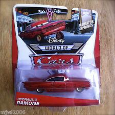 Disney World of Cars HYDRAULIC RAMONE (RED) 2014 RADIATOR SPRINGS diecast 2/15