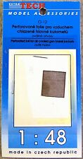 Extra Tech 1/48 Perforated Foil for A/C Gun Jackets Photo-Etched Detail Set