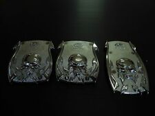 CAR MANUAL TRANSMISSION PEDALS ALLOY METAL SKULL MODEL  X 3 PIECES