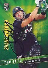 ✺Signed✺ 2015 2016 AUSTRALIAN Cricket Card SHANE WATSON Big Bash League