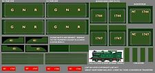 LHP HD057G HORNBY DUBLO / WRENN 0-6-2T N2 LOCO GNR REFURB CONVERSION TRANSFERS