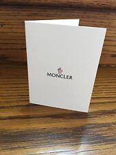 Moncler Booklet Receipt Holder New Authentic