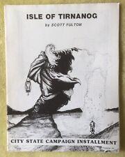 Isle Of Tirnanog, Judges Guild, Dungeons & Dragons D&D, Wilderlands High Fantasy